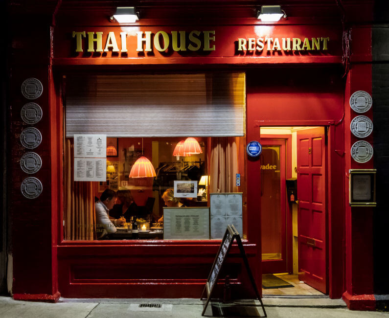 Thai House Restaurant Dalkey Dublin